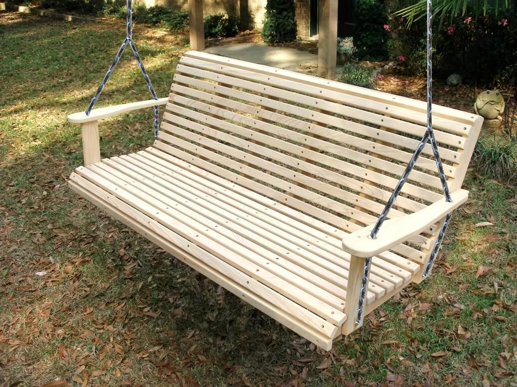 Image of: Heavy Duty Porch Swing Design