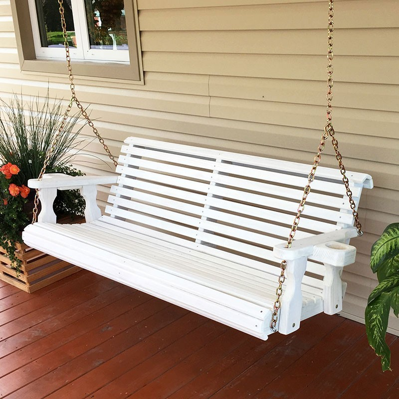 Image of: Heavy Duty Porch Swing Ideas