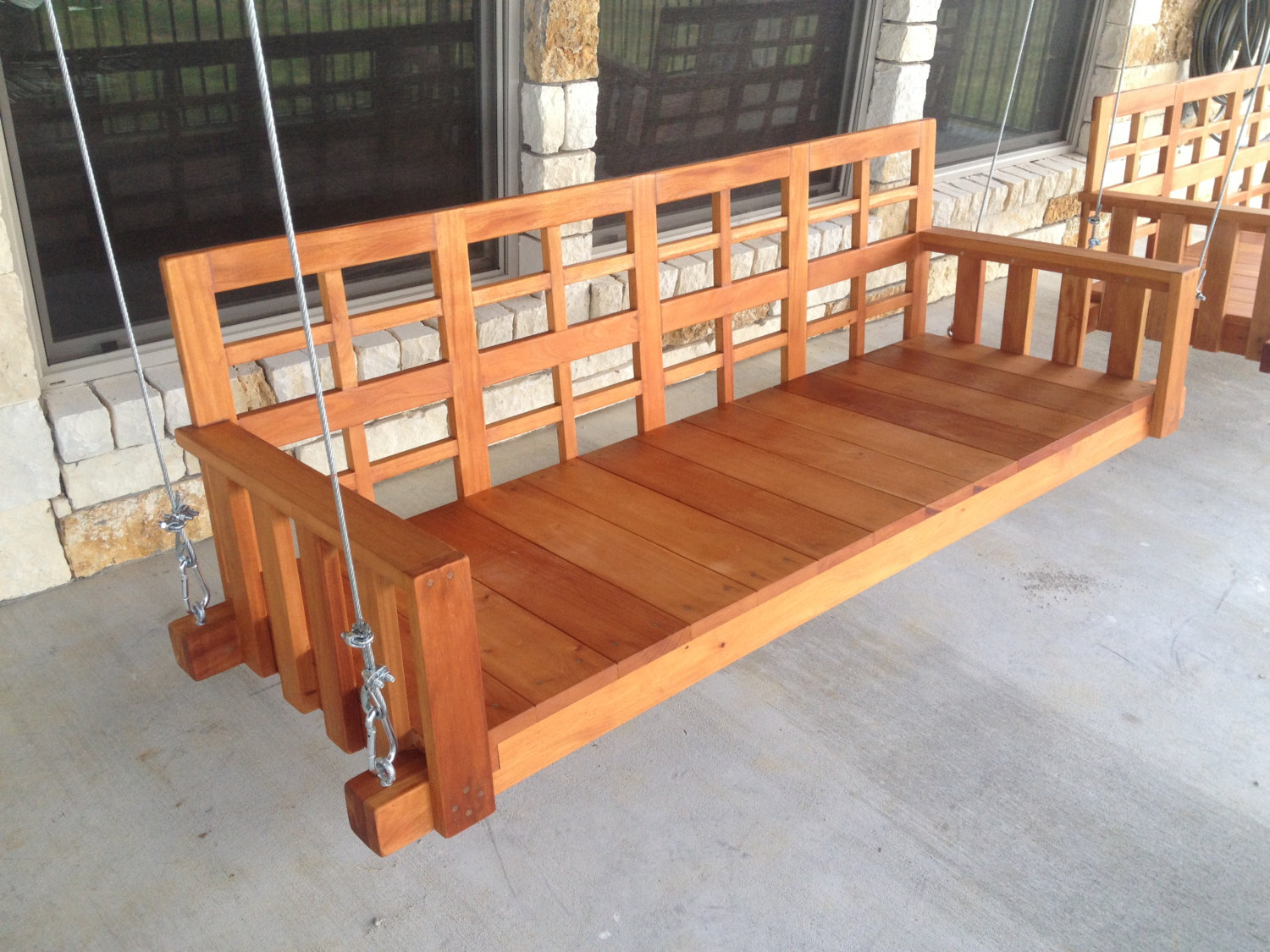 Image of: Heavy Duty Porch Swing Inspired
