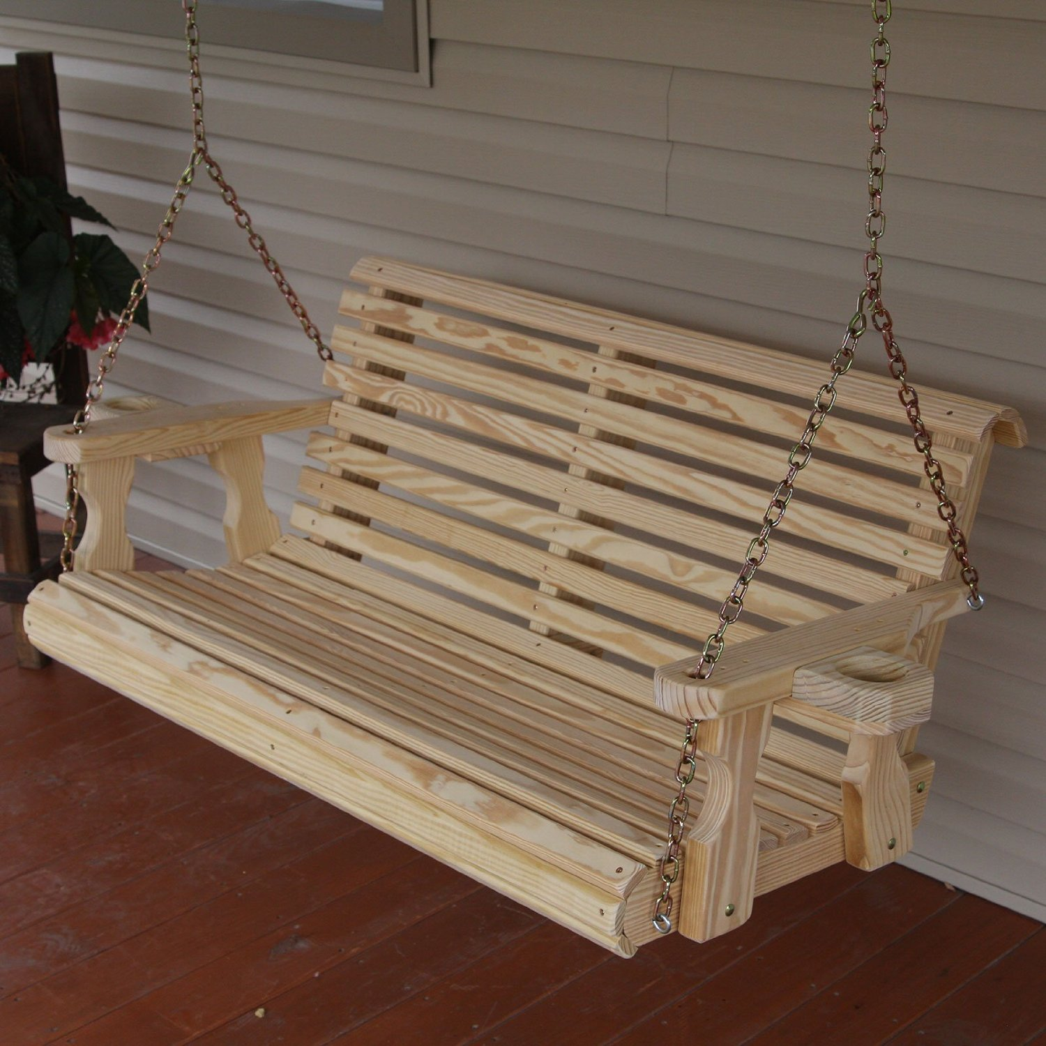 Image of: Heavy Duty Porch Swing Plan