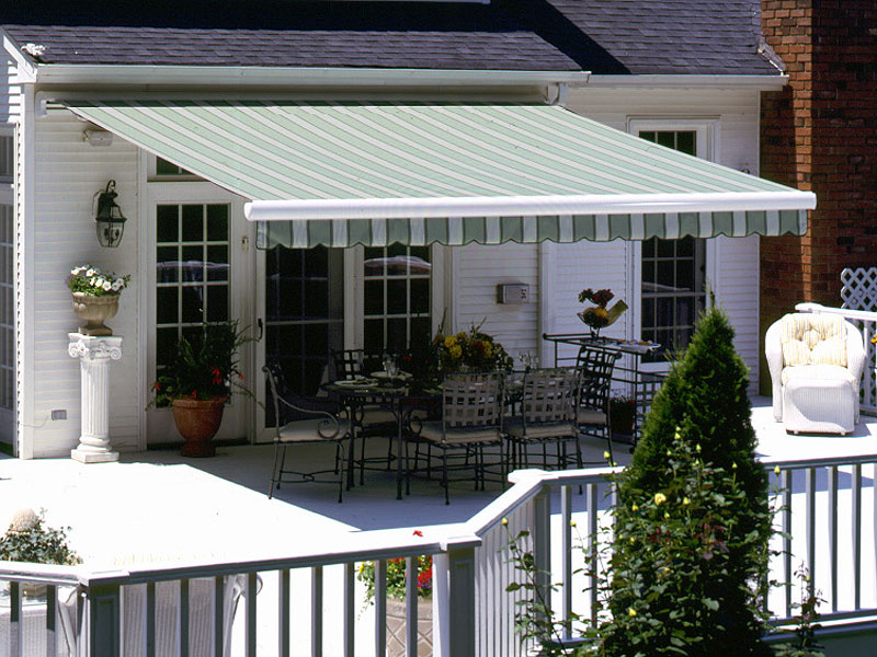 Image of: Homemade Porch Awnings For Home