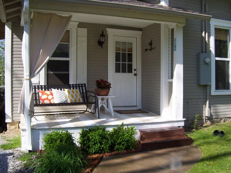 Image of: Ideas For Front Porch Style