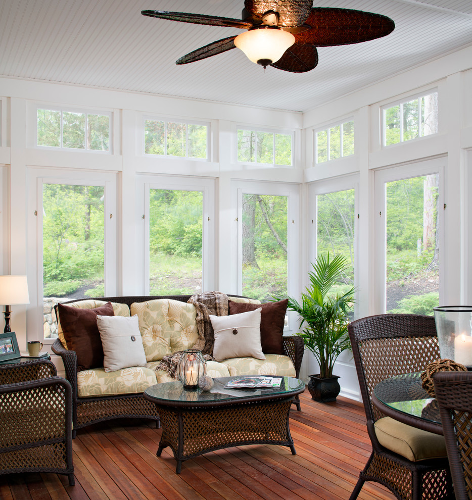Image of: Ideas For Screened In Porch Indoor