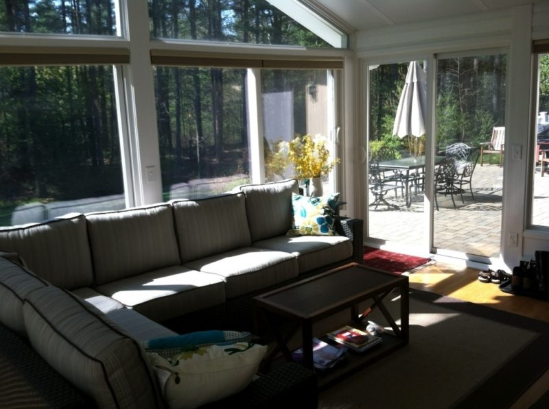 Image of: Ideas For Screened In Porch