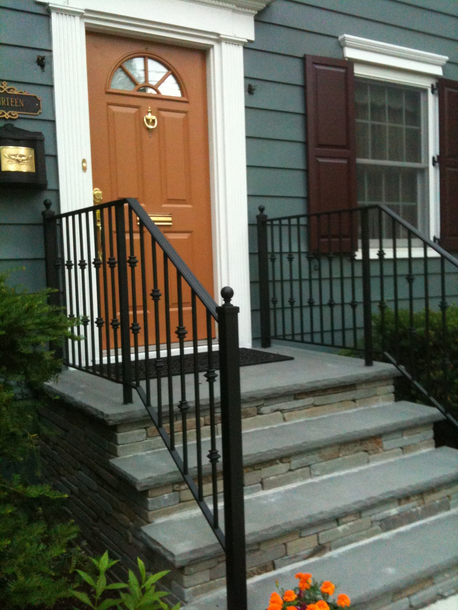 Image of: Image Aluminum Porch Railings
