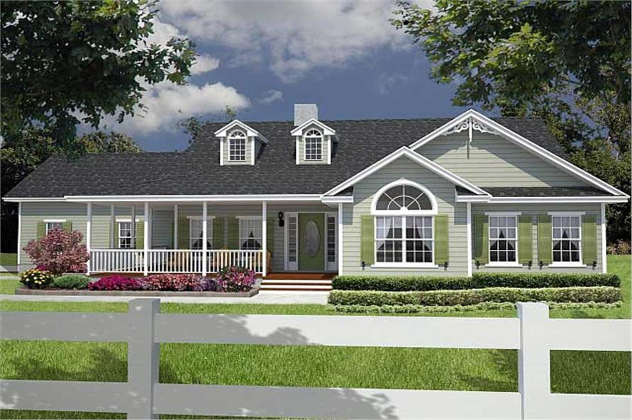 Image of: Images Of Houses With Wrap Around Porches