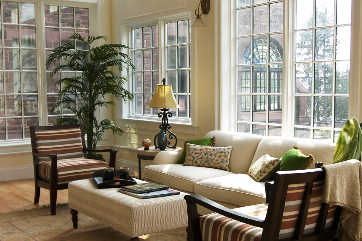 Image of: Indoor Porch Furniture Sunroom