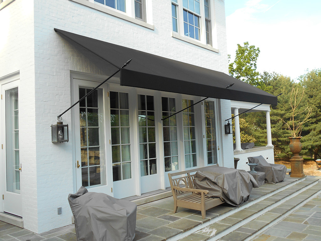 Image of: Interesting Porch Awnings For Home