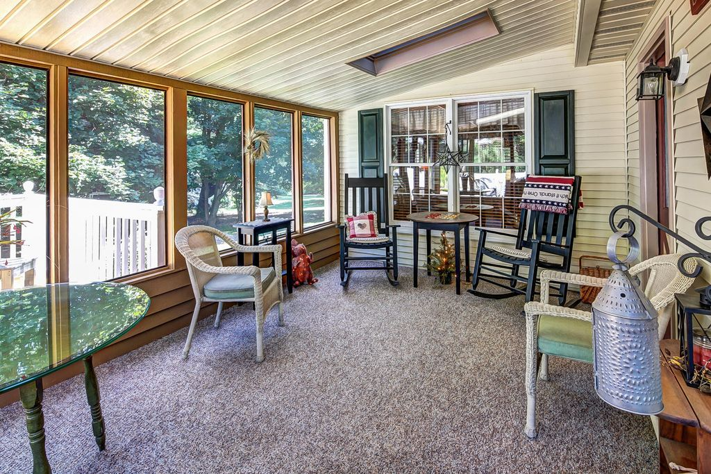 Image of: Interior Country Porch