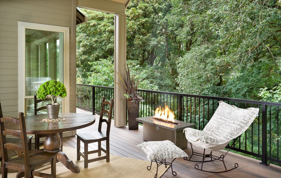 Image of: Iron Porch Railing Gallery