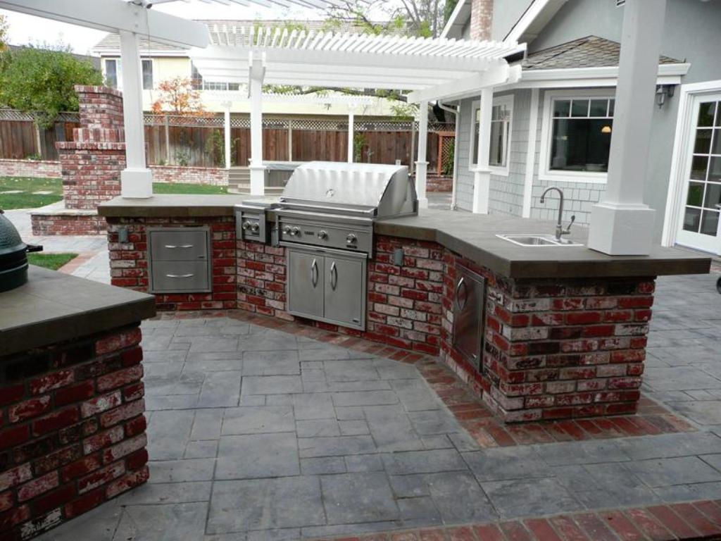 Image of: Katy Outdoor Kitchens