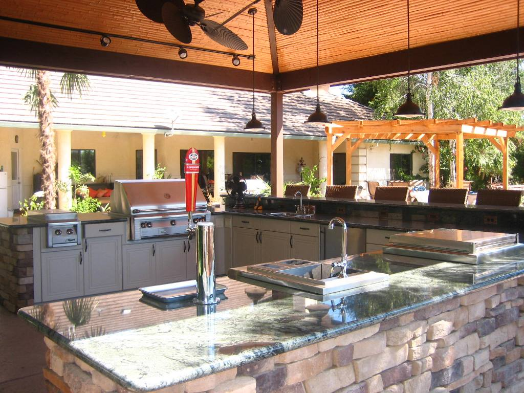 Image of: Katy Outdoor Patios & Kitchens