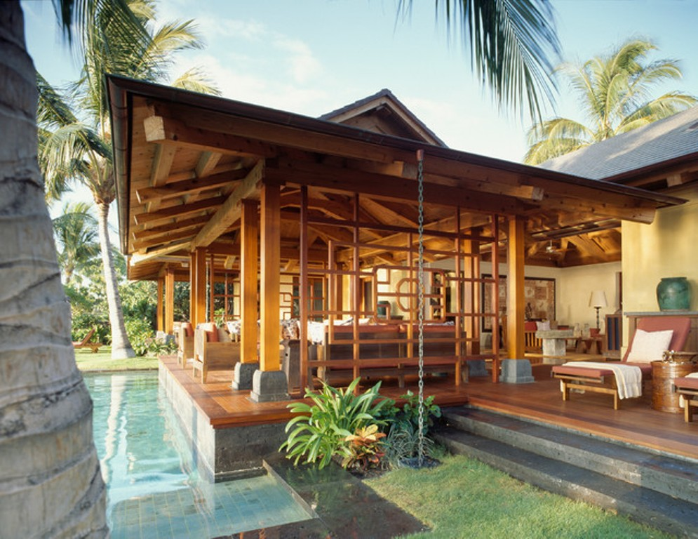 Image of: Lanai Porch Patio
