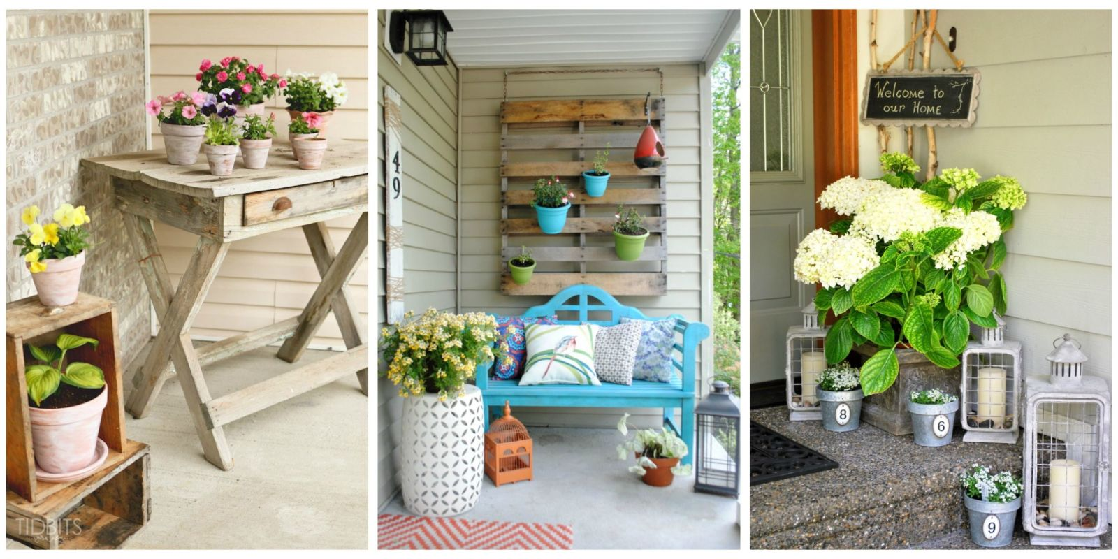 Image of: Landscape Back Porch Ideas