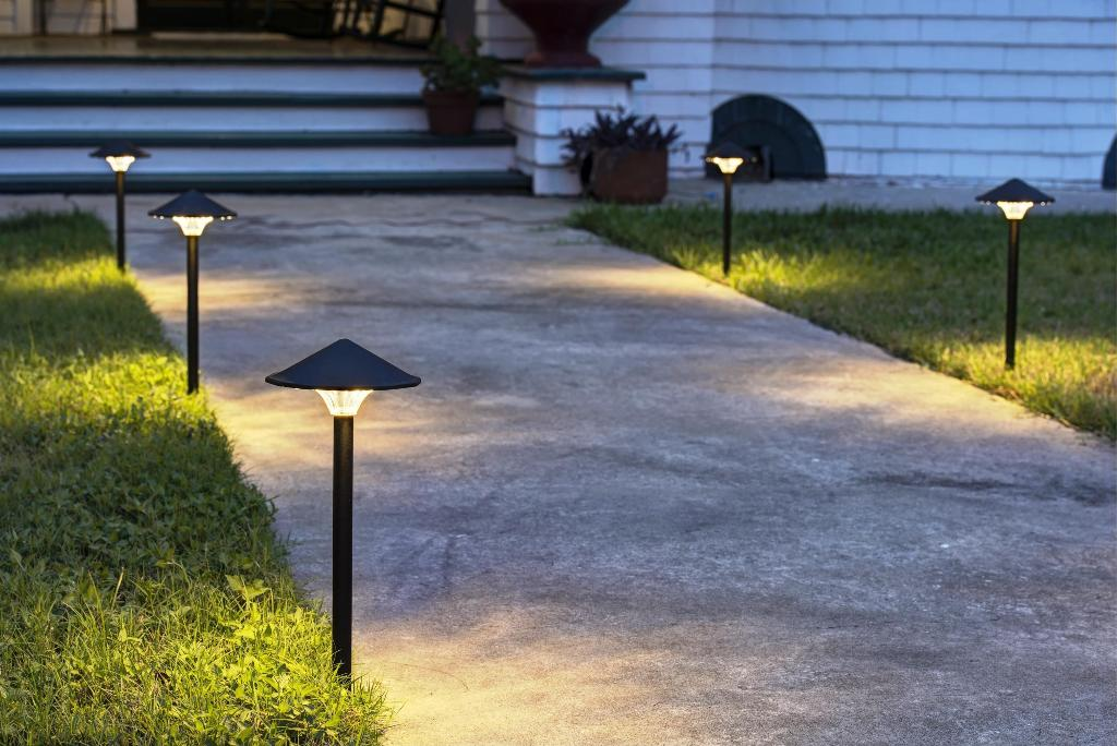 Image of: Landscape Lighting T Connectors
