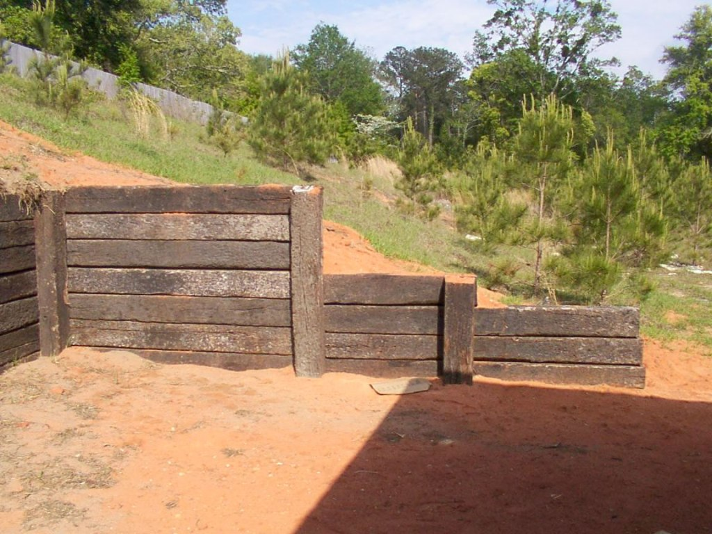 Image of: Landscape Railroad Ties Home Depot