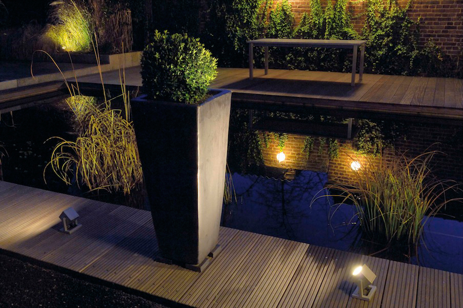 Image of: Landscaping Motion Activated Porch Light