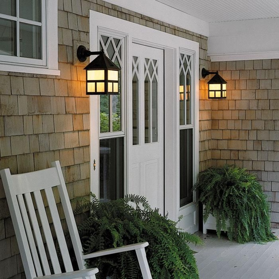 Image of: Lantern Porch Lights