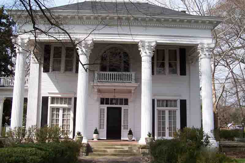 Image of: Large Round Porch Columns