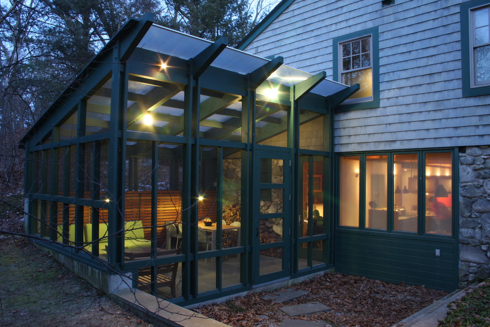 Image of: Latest Glassed In Porch