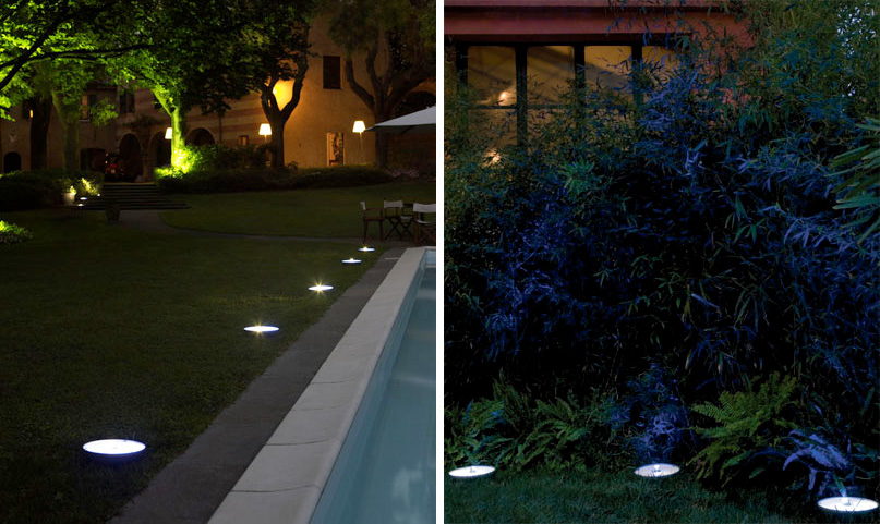 Image of: Led Porch Lights Floor