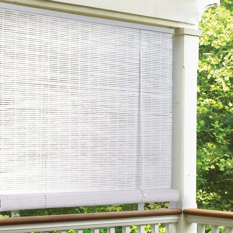 Image of: Master Outdoor Blinds For Porch