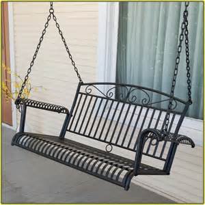 Image of: Metal Porch Swings Ideas