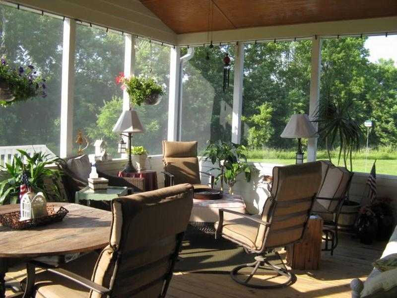 Modern Backyard Porch Ideas