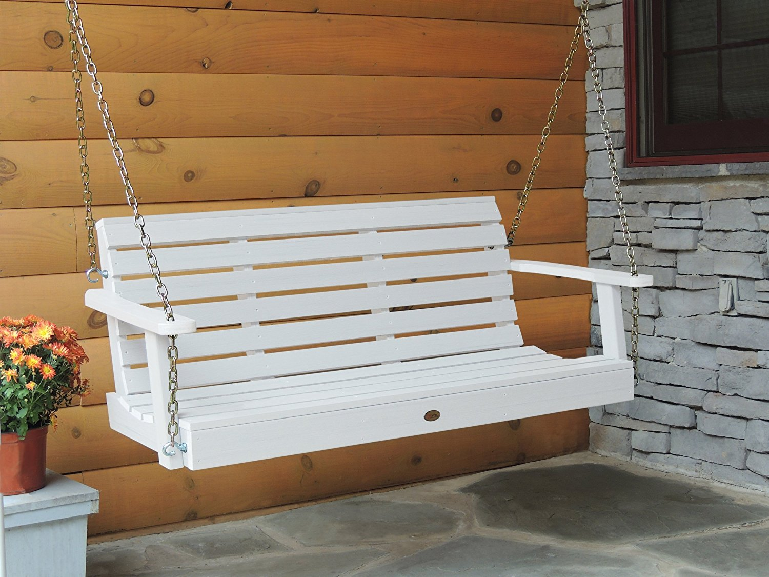Image of: Modern Composite Porch Swing