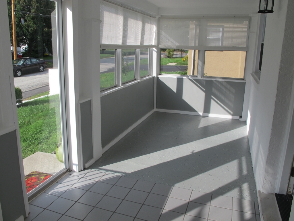 Image of: Modern Enclosed Porch Designs