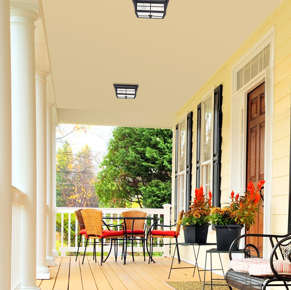 Modern Flush Mount Porch Light