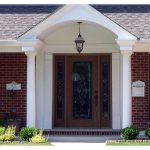 Modern Front Porch Awning