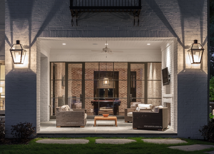 Image of: Modern Gas Porch Light