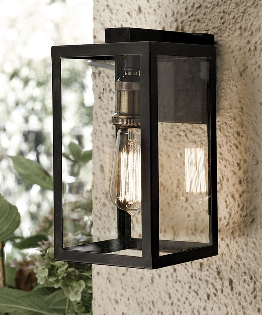 Image of: Modern Lantern Porch Lights