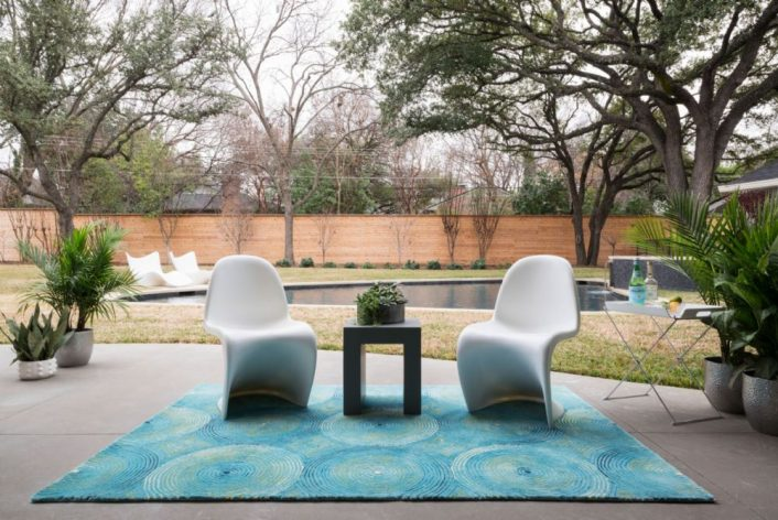 Modern Outdoor Porch Rugs
