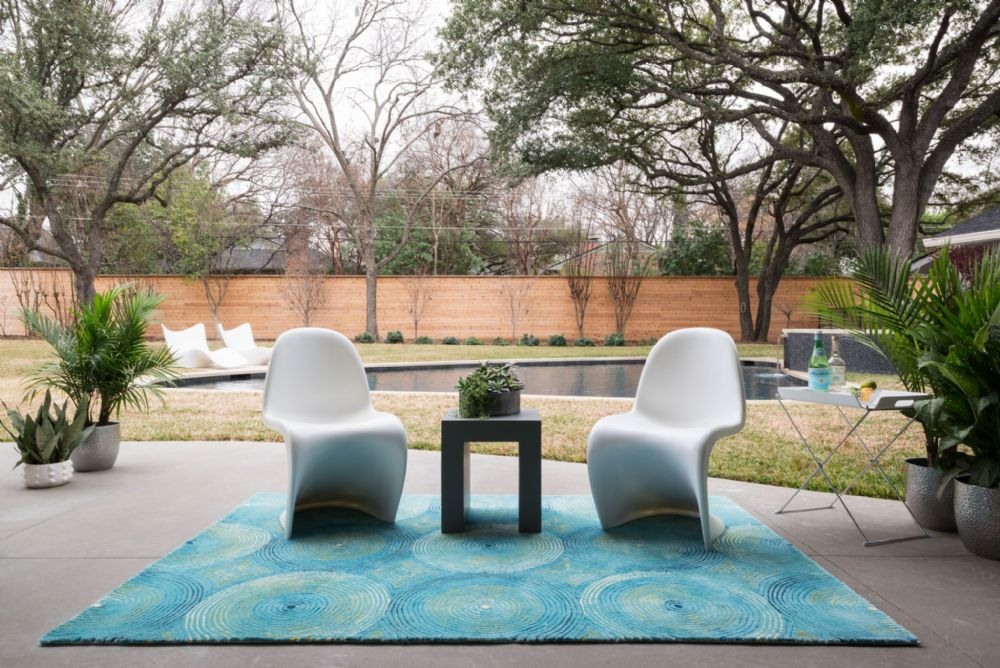 Image of: Modern Outdoor Porch Rugs