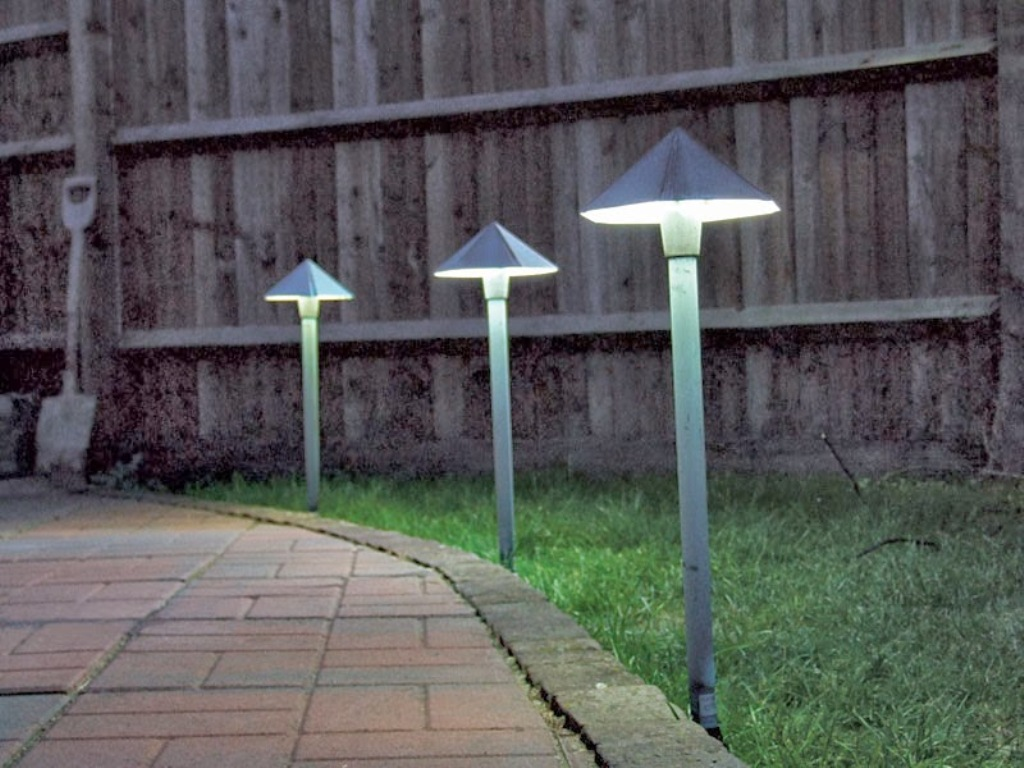 Image of: Modern Outdoor Sensor Wall Lights