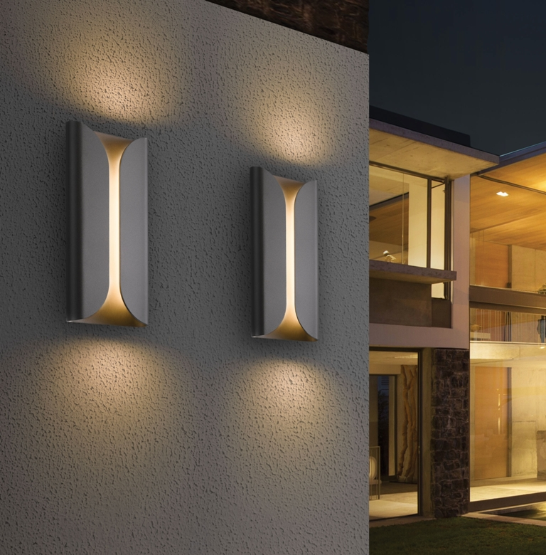 Image of: Modern Outdoor Wall Lights Uk