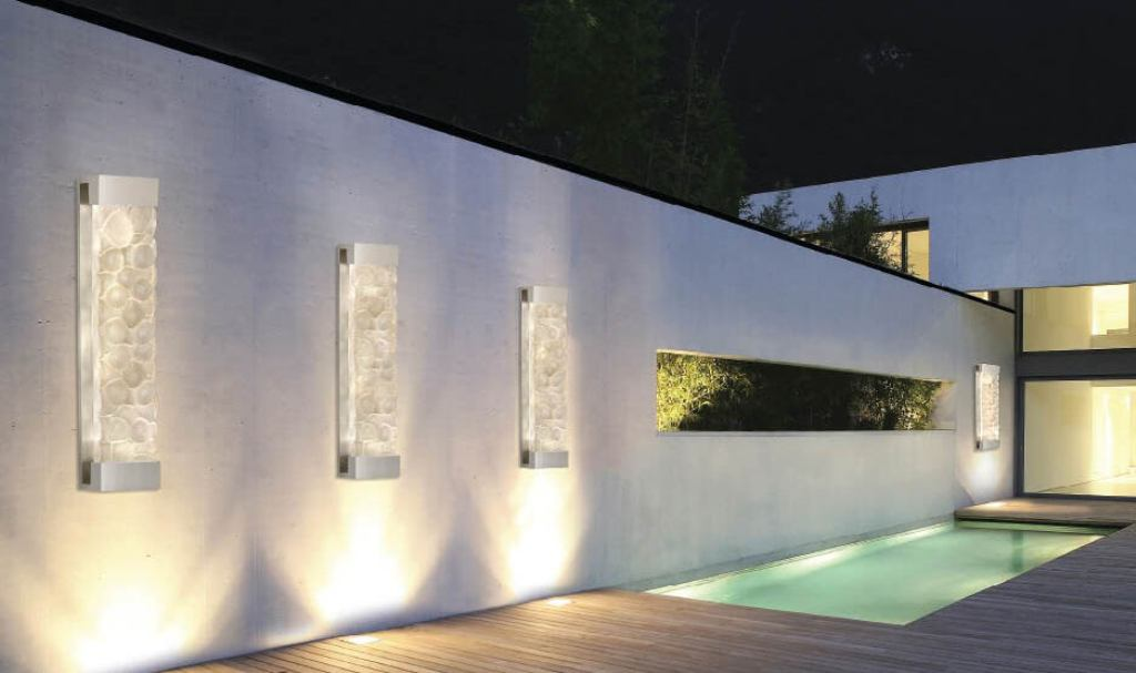 Image of: Modern Outdoor Wall Lights With Pir