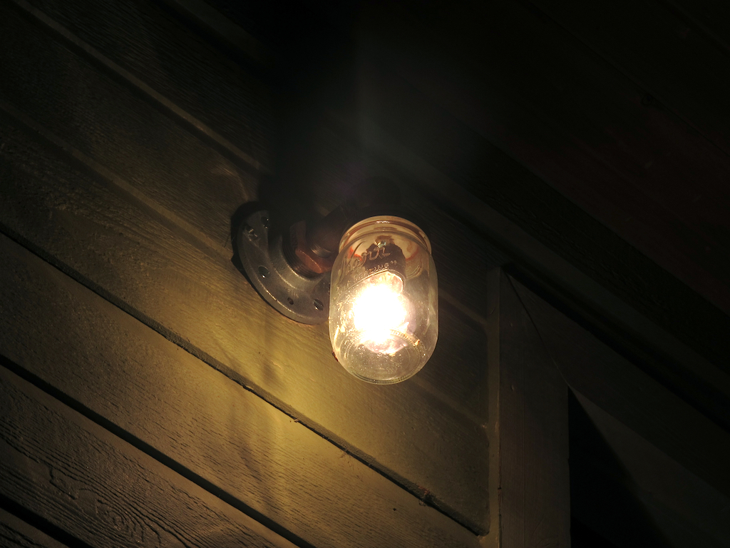 Image of: Modern Porch Light Small