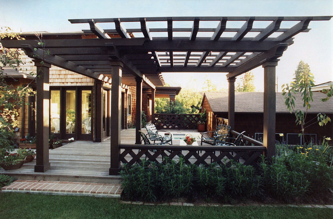 Image of: Modern Porches And Decks