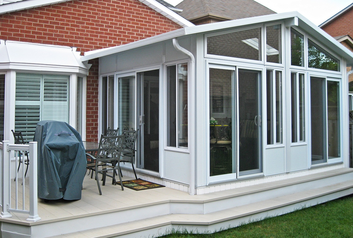 Image of: Modern Sun Porch Windows