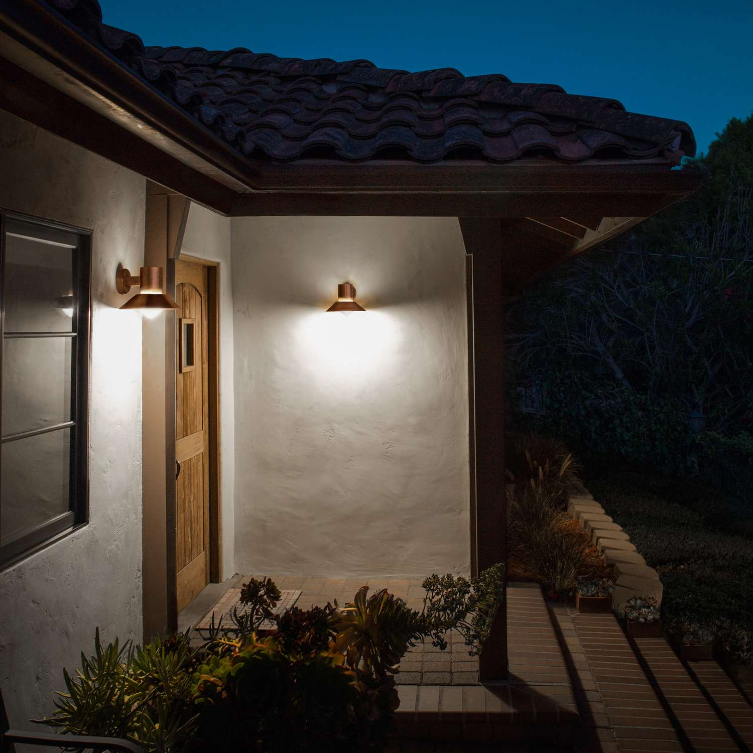 Image of: Motion Activated Porch Light Models
