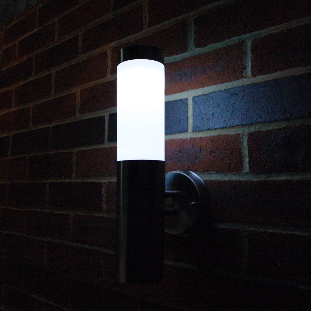 Image of: Motion Activated Porch Light Wall