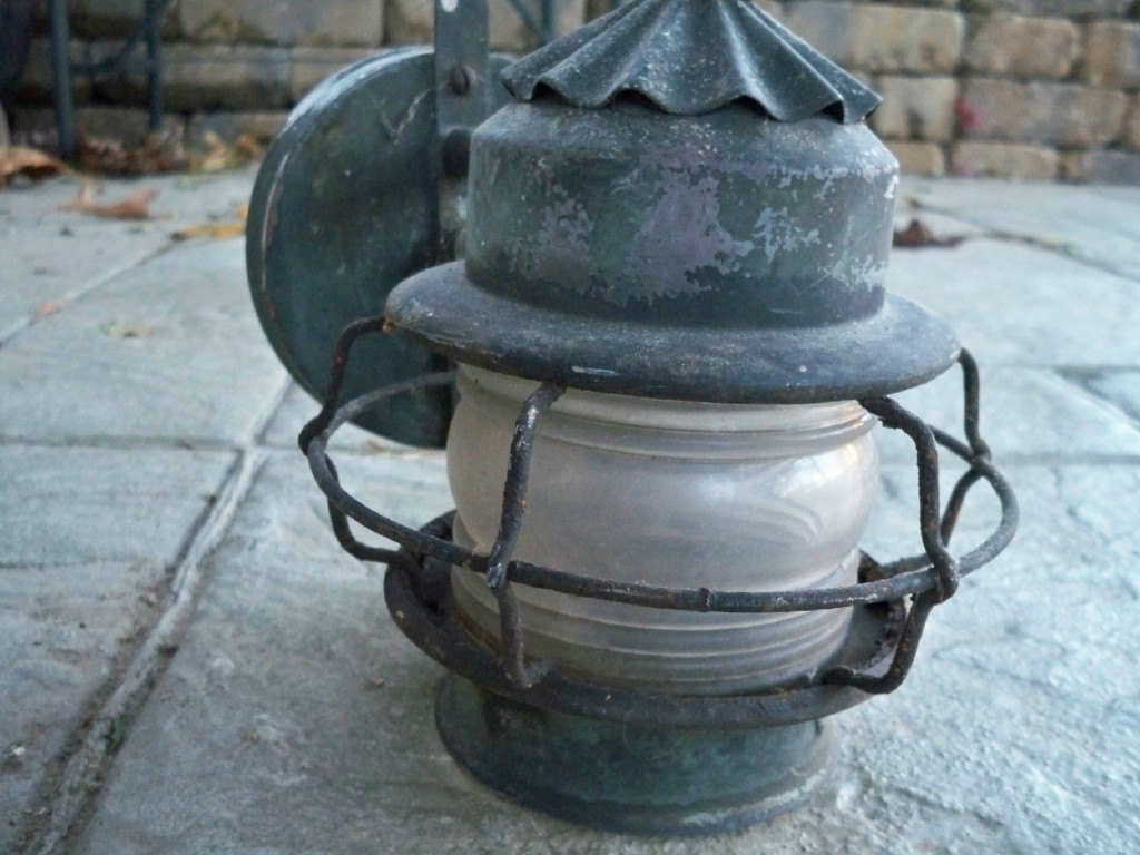 Image of: Nautical Porch Lights Copper