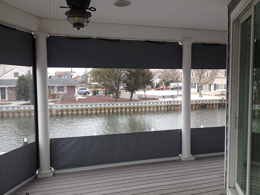 Image of: New Acrylic Panels For Screened Porch
