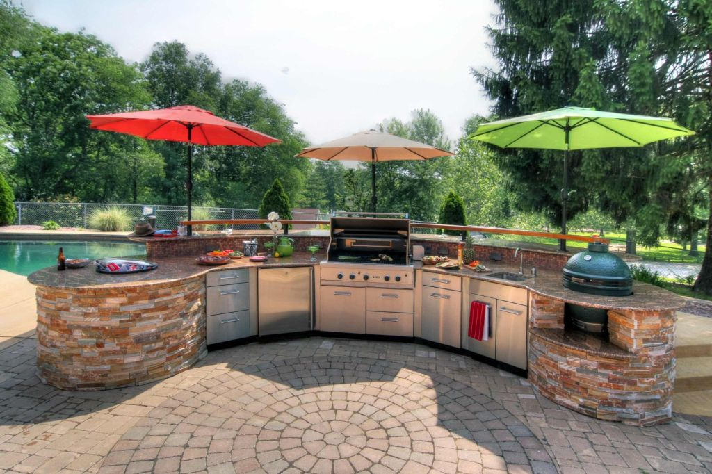 Image of: New Katy Outdoor Patios & Kitchens