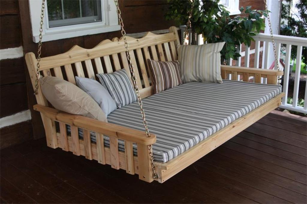 Image of: Nice Composite Porch Swing