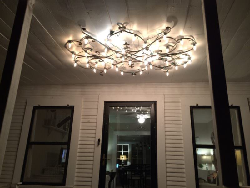 Nice Front Porch Chandelier
