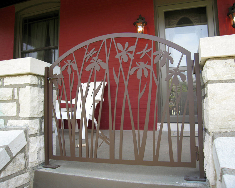 Nice Gate for Front Porch